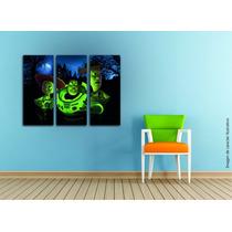 Cuadros Impresos Tripticos, Tela Canvas 60x50cm Personajes!