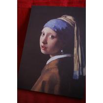 Cuadro La Joven De La Perla - Vermeer Tela Canvas Lienzo
