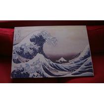Cuadros Katsushika Hokusai La Gran Ola Tela Canvas Lienzo