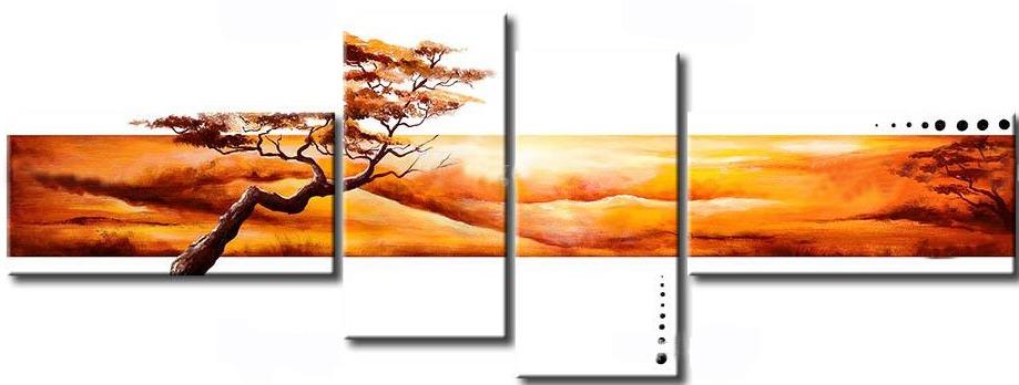 Cuadros modernos de paisajes - Imagui
