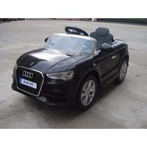 Audi A3 A Batería Negro Con Control Remoto 12 V