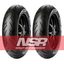 Cubierta Yamaha Fz 16 Pirelli 140 60 17 Diablo Rosso Ii Nsr
