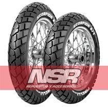 Juego Cubiertas Pirelli Mt 90 Trial Honda Xr Bross 125 Nsr