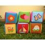 Cubos Didácticos-sonajeros-bebés-sala Blanda-20 Cm