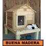Cucha Para Mascotas, Perros,gatos // Buena Madera
