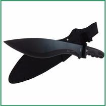 Cuchillo Tactico Kukri Machete De Caza Columbia Grande Acero