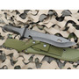 Cuchillo Yarara Comando 601 Largo Total 37 Cm Hoja 24cm