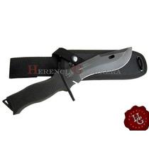Cuchillo Yarara Goe Fuerza Aerea Acero Carbono Tactico Vaina