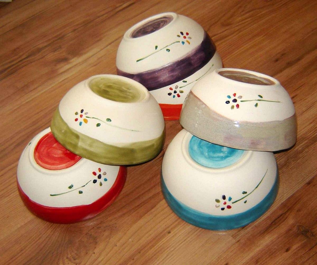 Cuencos de cer mica artesanal for Materiales para ceramica artesanal