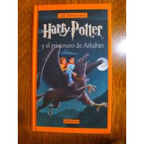 Harry Potter Y El Prisionero De Azkaban Tapa Dura
