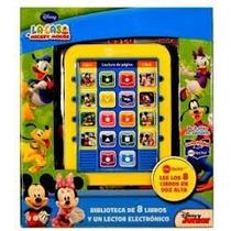 La Casa De Mickey Mouse. Lector Magico Y 8 Libros. Dial