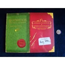 Harry Potter Animales Fantasticos Y Quidditch. Envio Gratis