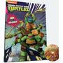 Libro De Cuentos Tortugas Ninja - 8 Tomos De Cartón + Cd Rom