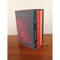 Pack H.p. Lovecraft Obras Completas X 4 Libros