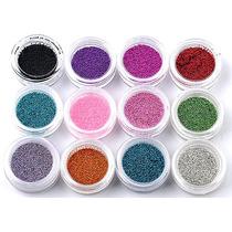 Caviar Mini Esferas X12 Deco Uñas Maquillaje Artistico Ydnis