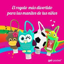 Gelpocket Fantasia Animalitos Alcohol En Gel X 30 Un !!