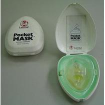 Mascara De Rcp Bomberos Medicos Trauma Rescate Guardavidas