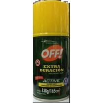 Repelente Mosquitos Off Verde Extra Duracion Aerosolx165 Cm3