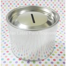 Latas Alcancias Medianas Personalizar Souvenirs Caballito
