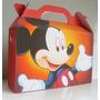 Cajita Bolsita Mickey Mouse Souvenirs Infantiles Pack X100
