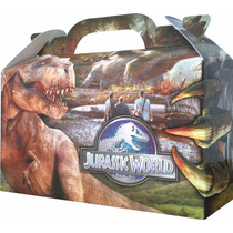 Dinosaurios Jurassic World Bolsita Golosinera Pack X 10