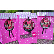 Bolsas Golosineras De Personajes Mickey Minnie Kitty Etc