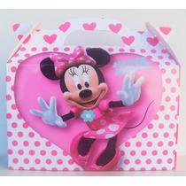 Cajita Bolsita Minnie Souvenirs Infantiles Pack X100