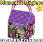 10 Cajita Feliz Souvenirs Monster High Golosinera + 7 Juegos