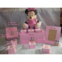Souvenirs Mickey Y Minnie Bebes,1º Añito,cajitas,cumples