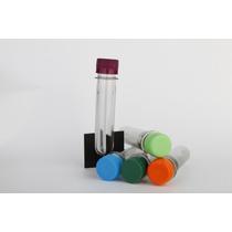 Tubos De Ensayo Con Tapa Plastica V/colores 10unidx$