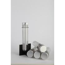 Tubos De Ensayo Plastico Con Tapa Metalica 60unidx$