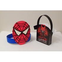 Combo Bolsita Y Vincha Spiderman - Personalizados