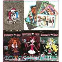 Sobre Con 8 Cartas De Monster High Ideal Souvenir Cumpleaños