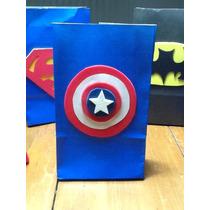 Bolsitas Capitán América Artesanales