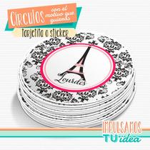 París - Círculo Multiuso Para Imprimir