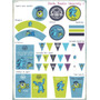 Invitaciones Bolsitas De Papel Toppers Monster University