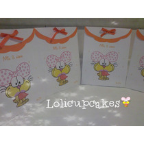 Bolsitas Agatha Gaturro. Candy Bar Stickers Invitaciones