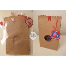 Packaging, Bolsa De Papel Kraft Con Visor Tag Personalizado