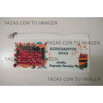 Cartuchera Con Cierre Personalizada - Souvenir, Egresados