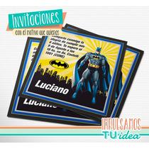 Batman - Tarjetita Para Imprimir