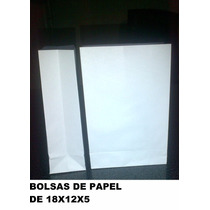 Bolsas De Papel, 18x12x5 Envio Gratis A Capital Federal