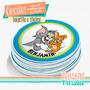 Tom Y Jerry - Topper Multiuso Para Imprimir