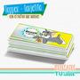 Tom Y Jerry - Tarjetita Para Imprimir
