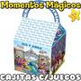 10 Cajita Monsters University Valijita Golosinera + 7 Juegos