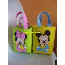 Bolsitas Golosineras Para Tu Evento Mickey Y Minnie Bebes.