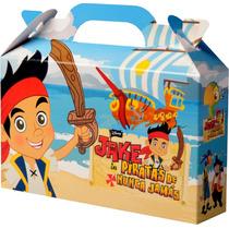 Souvenir Infantil Jake Y Los Piratas Pack X 10 Cajitas