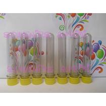 Tubitos Plásticos Vacíos Para Golosinas, Pack X 10