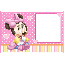 Kit Imprimible Minnie Bebé - Bolsitas - Invitaciones - Candy