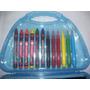 Valijita Creativa Marcadores Crayones Souvenirs Lapiz