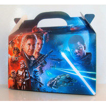 Cajita Bolsita Star Wars Souvenirs Infantiles Pack X100